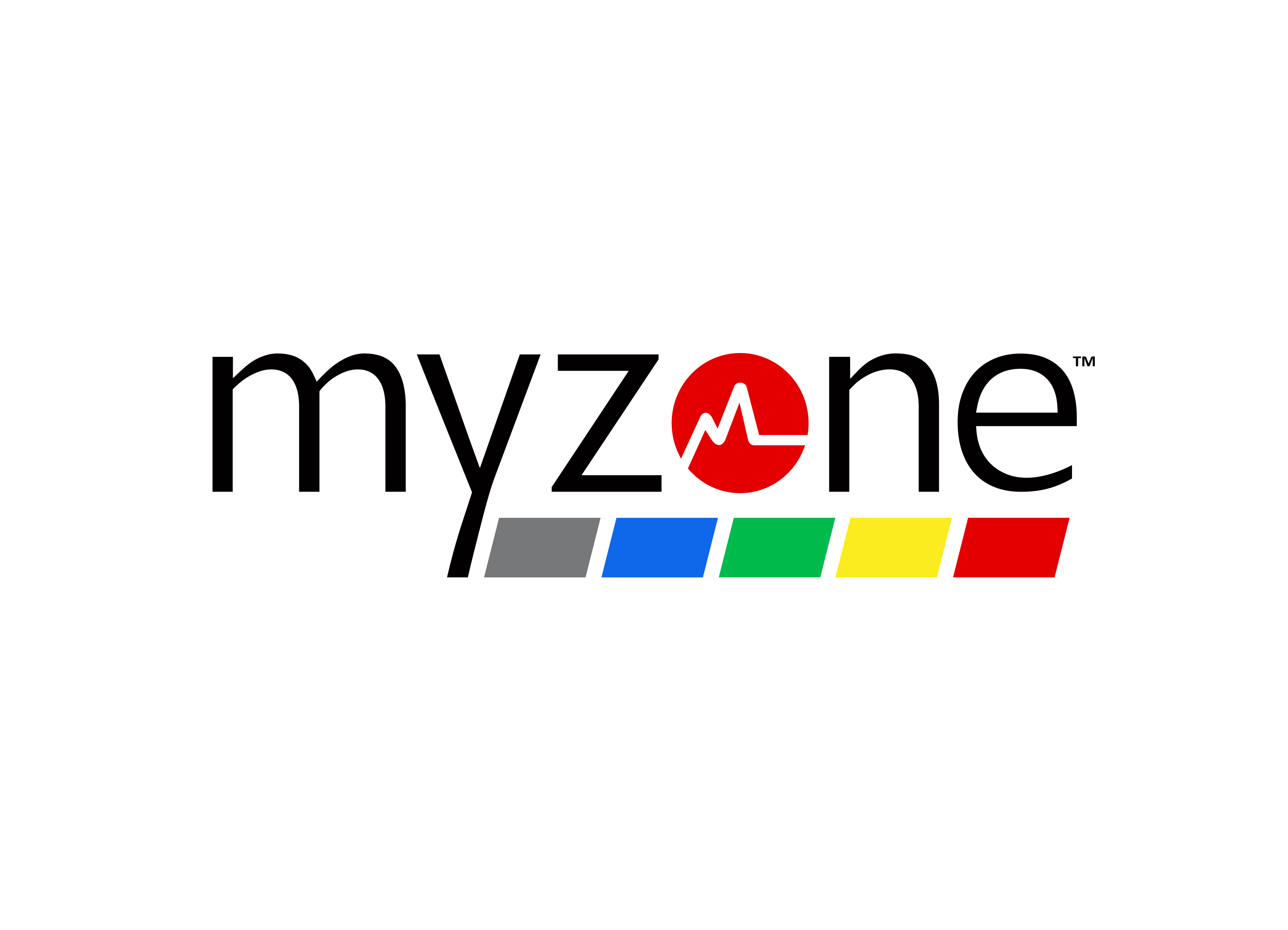 MYZONE Black text for white background